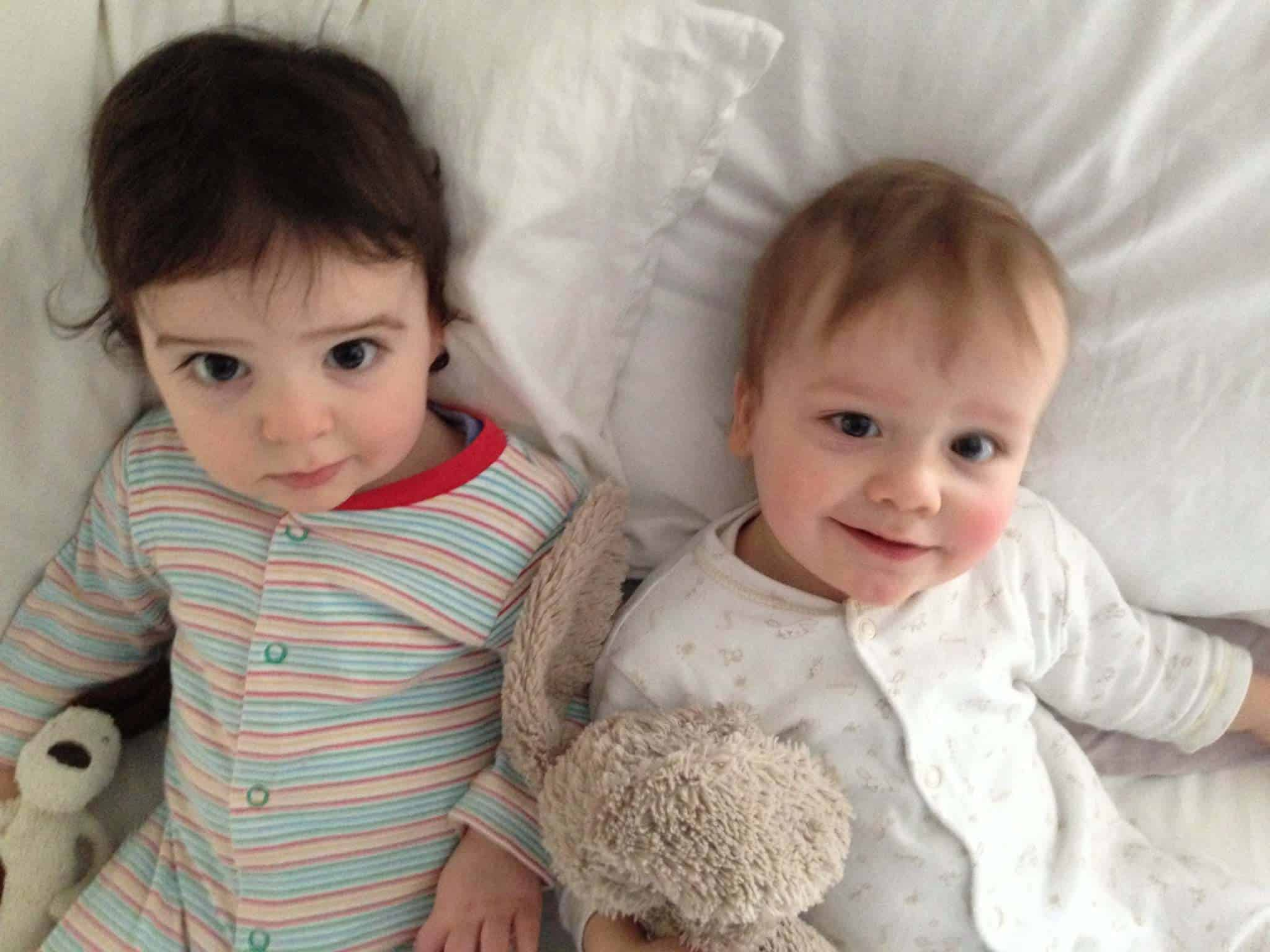 Twins at 14 months old