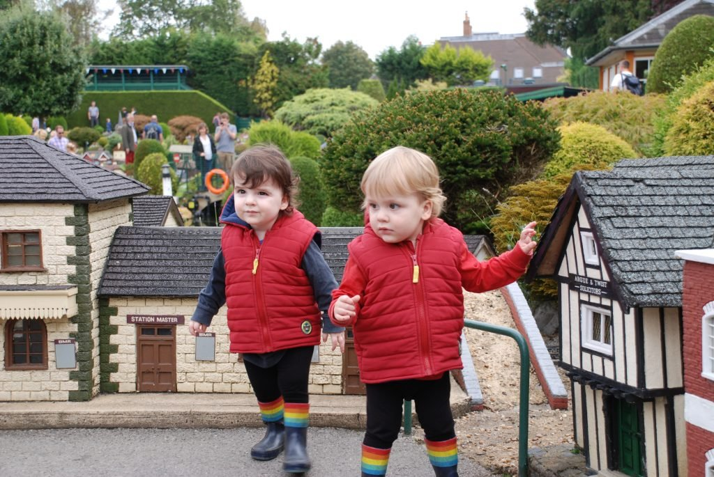 me and mine in September — Marlow Park and Bekonscot Model Village