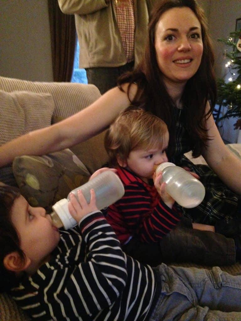 Twins at 21 months - December 2015
