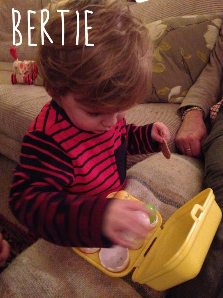 Twins at 21 months - Bertie December 2015