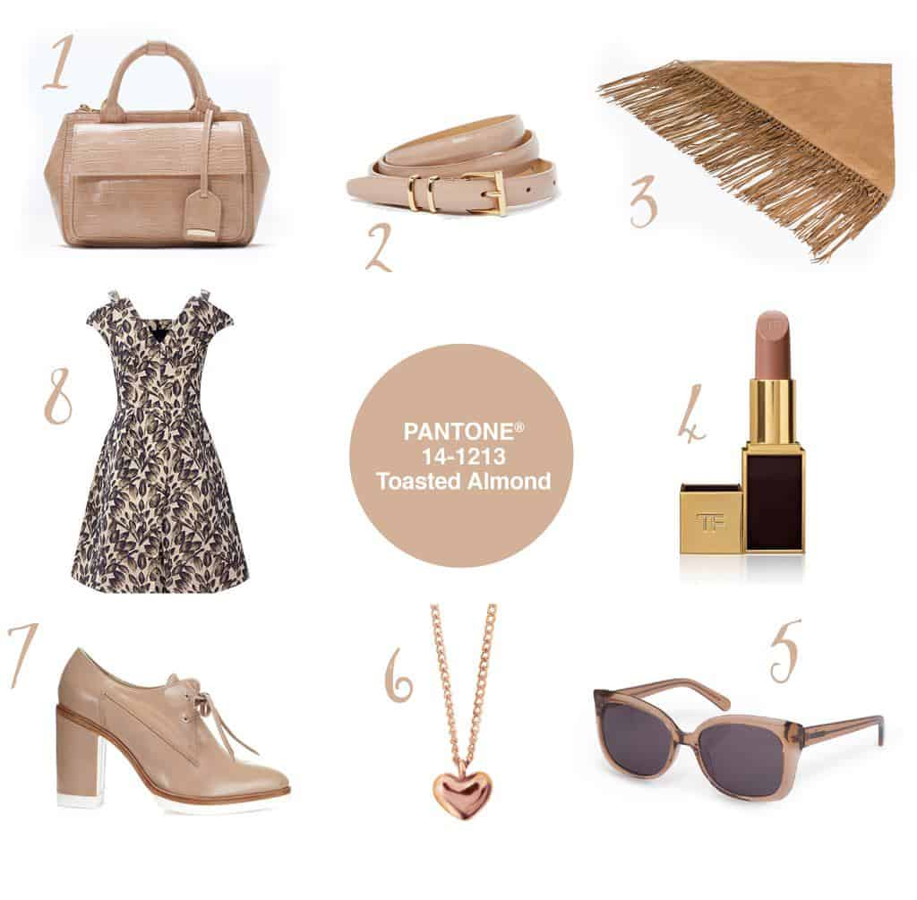 Colour Your World in Pantone Toasted Almond