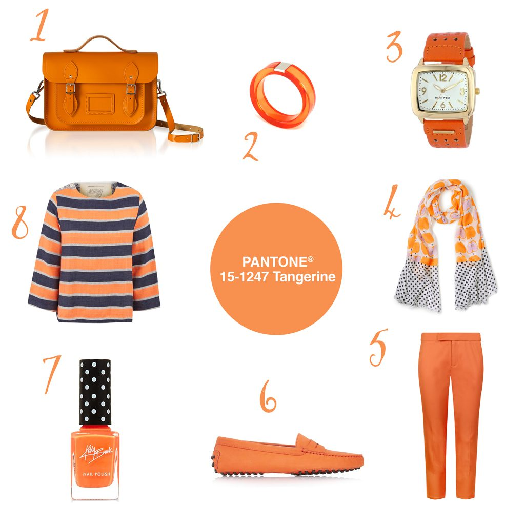 Pantone® Tangerine
