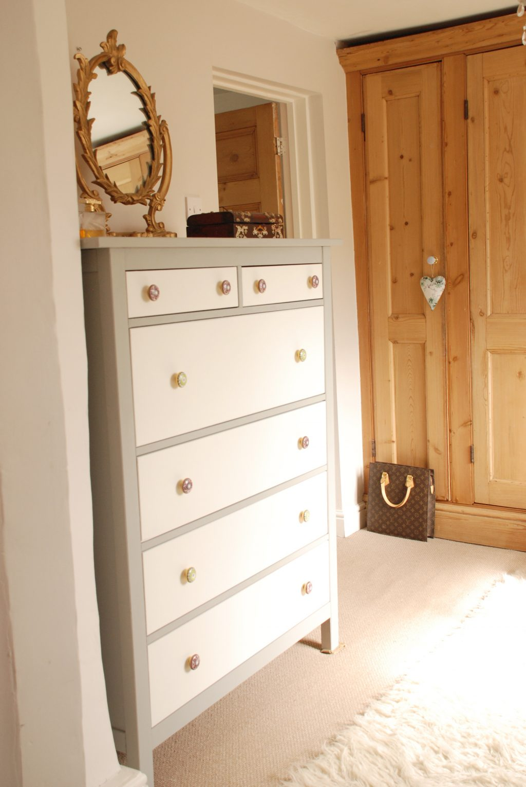 chest of drawers makeover