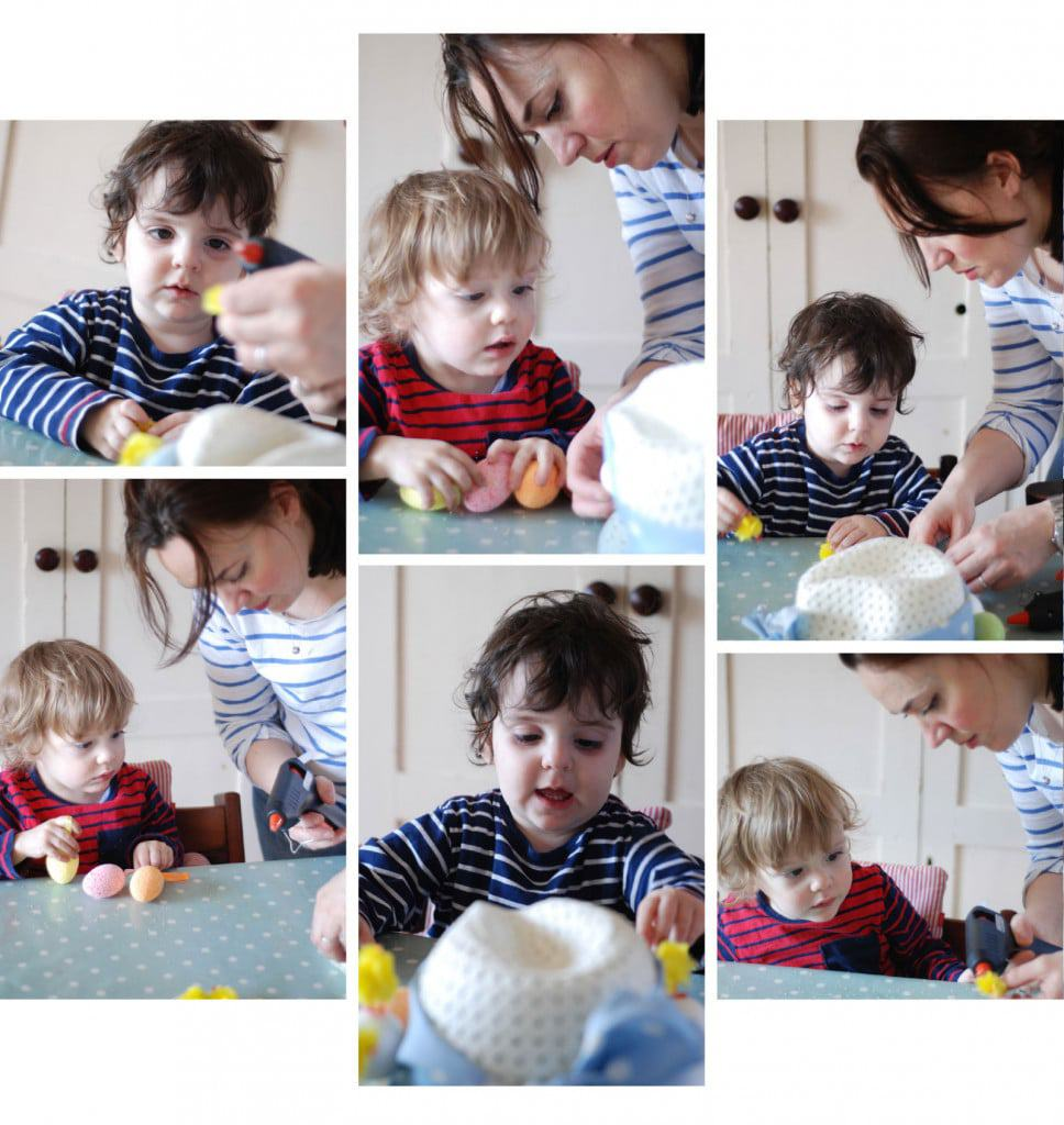 making_easter_bonnets