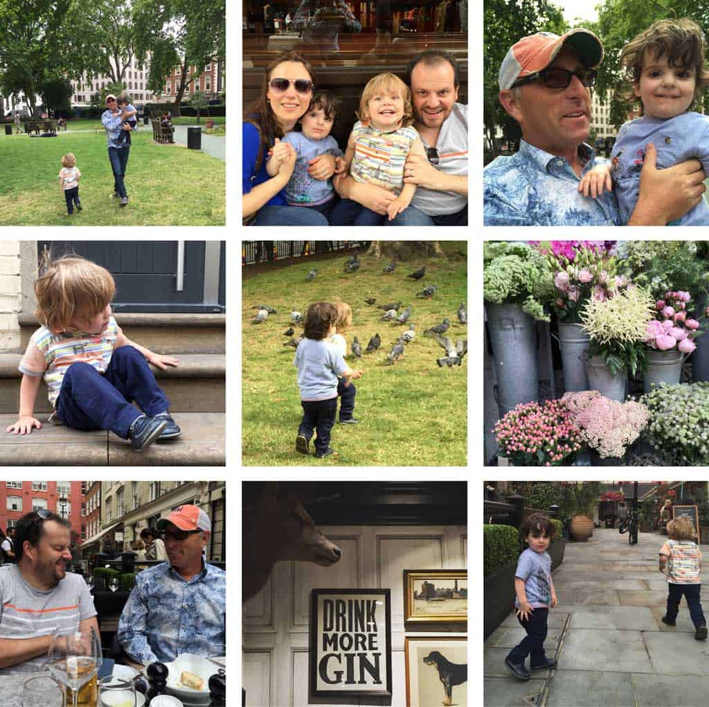 A Day Trip to London To See The Twin's Godfather