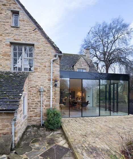 Extending a listed building