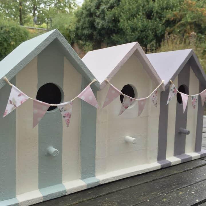 Make a Beach Hut Birdhouse