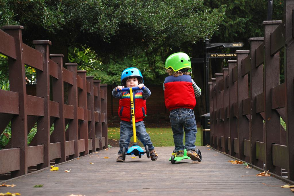 Mini Micro Scooters 'Create Your Own' Option is brilliant for twins!