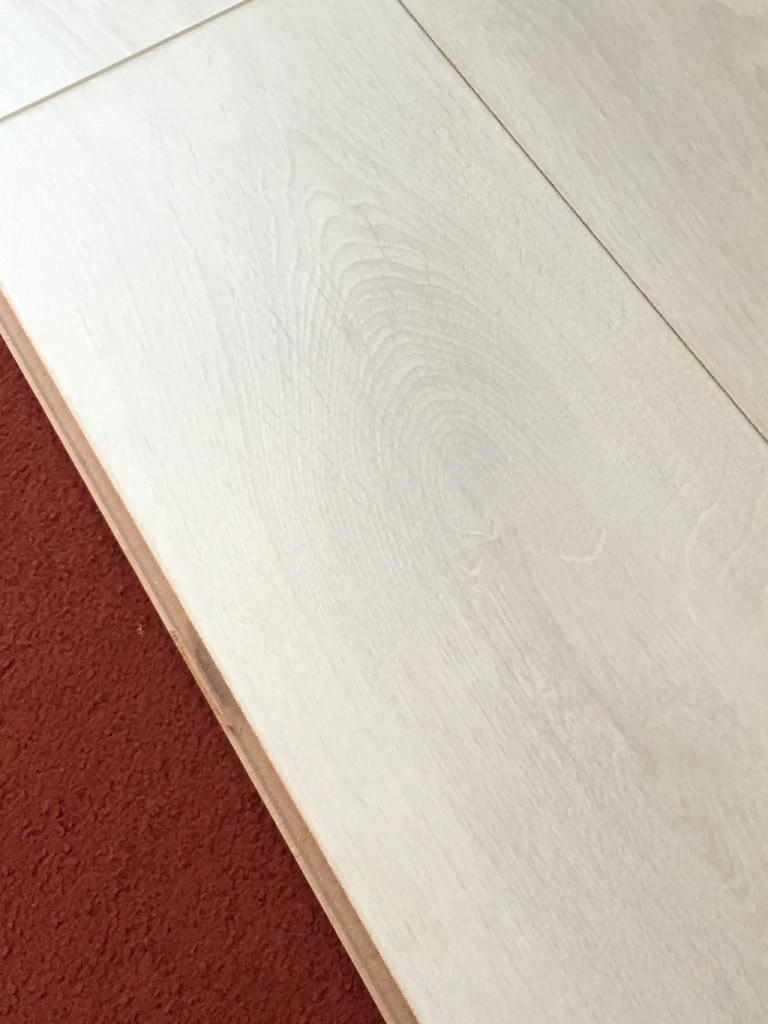 Laying Laminate Flooring in a Caravan —we laid the laminate directly over the carpet
