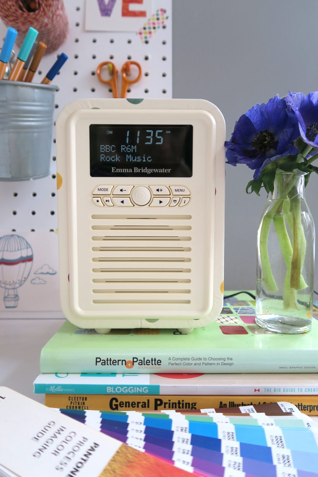 Emma Bridgewater Polkadot radio