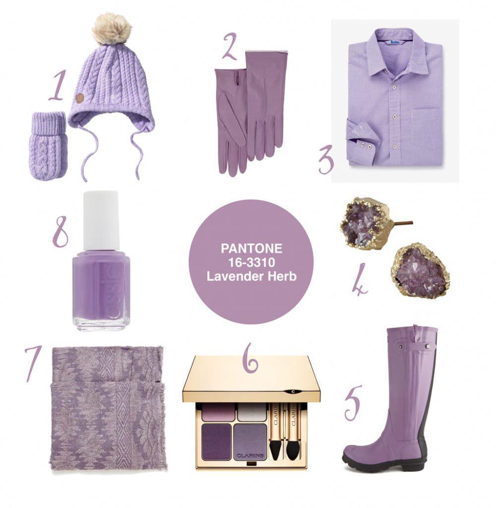 Pantone Lavender Herb