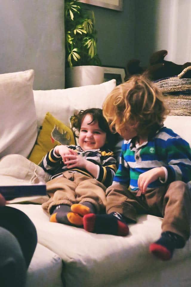 Siblings in December