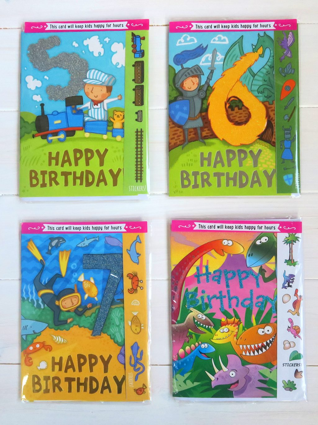 The best birthday cards for children — 4 Cardoo greetings cards