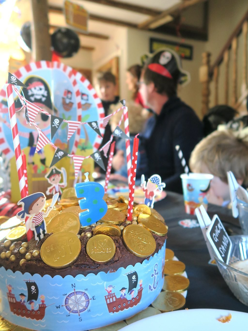 A pirate birthday party