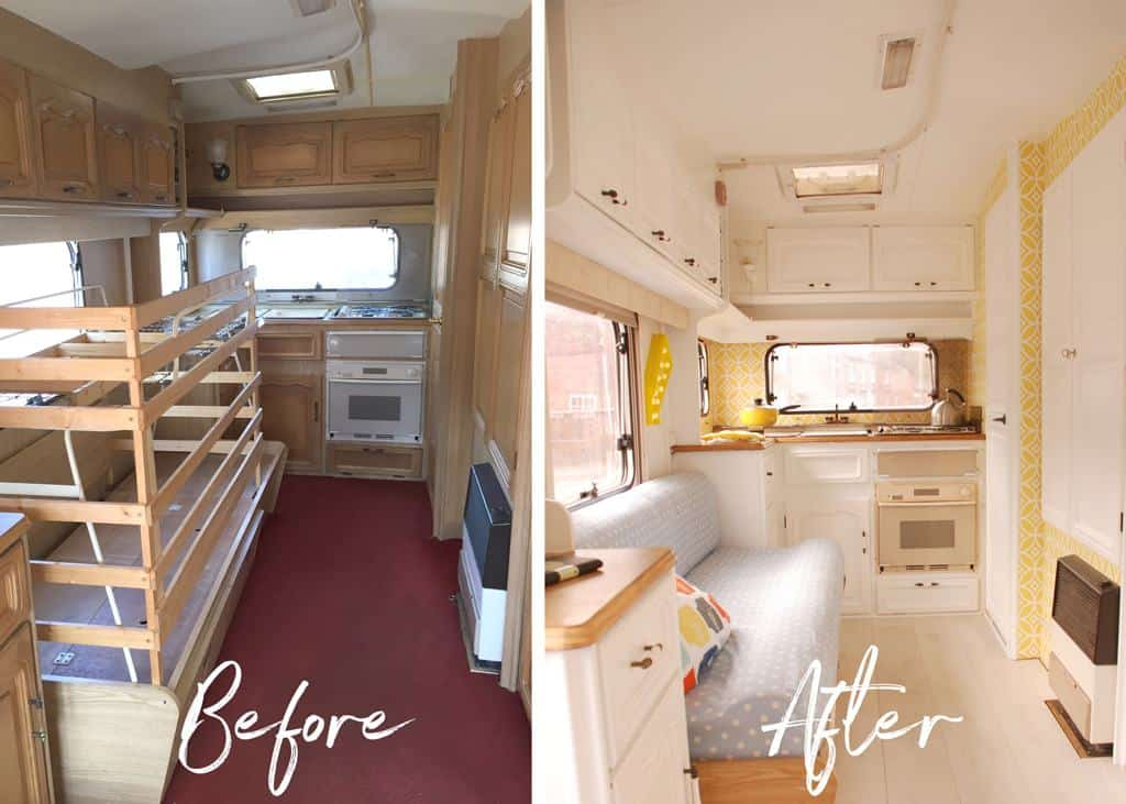 5 Tips on Buying a Second Hand Caravan — don't let an ugly interior put you off!