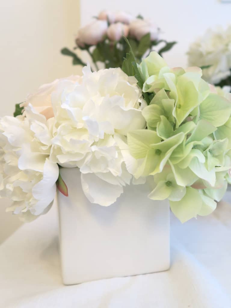 Faux florals by Jane Packer