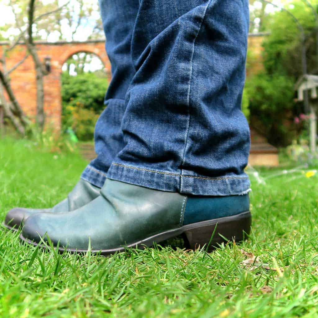 blue suede shoes from Jones Bootmaker