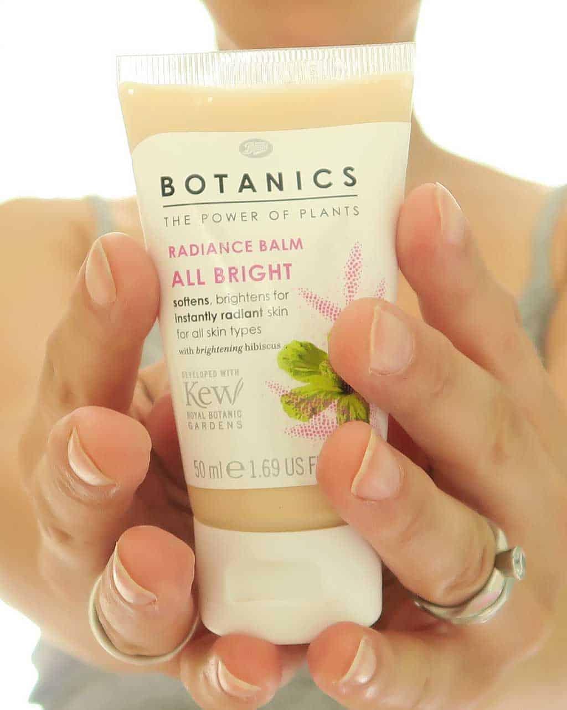 boots botanics skincare review — Boots Botanics Radiance Balm