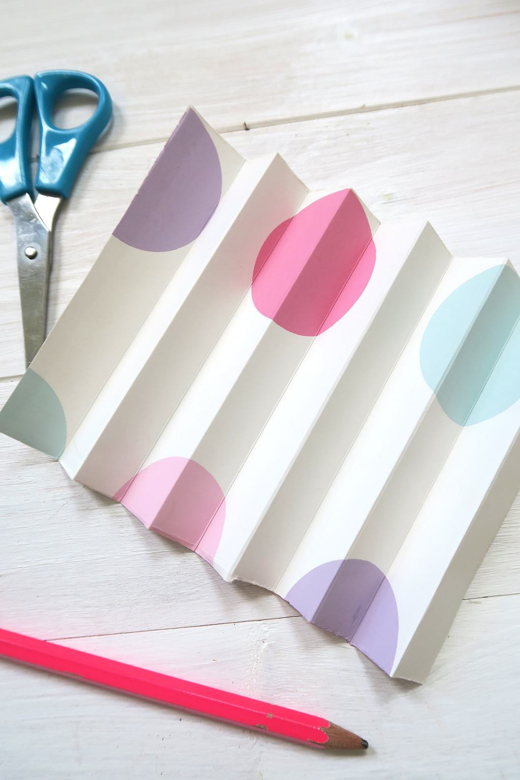 How To Make A Paper Circle Fan Decoration
