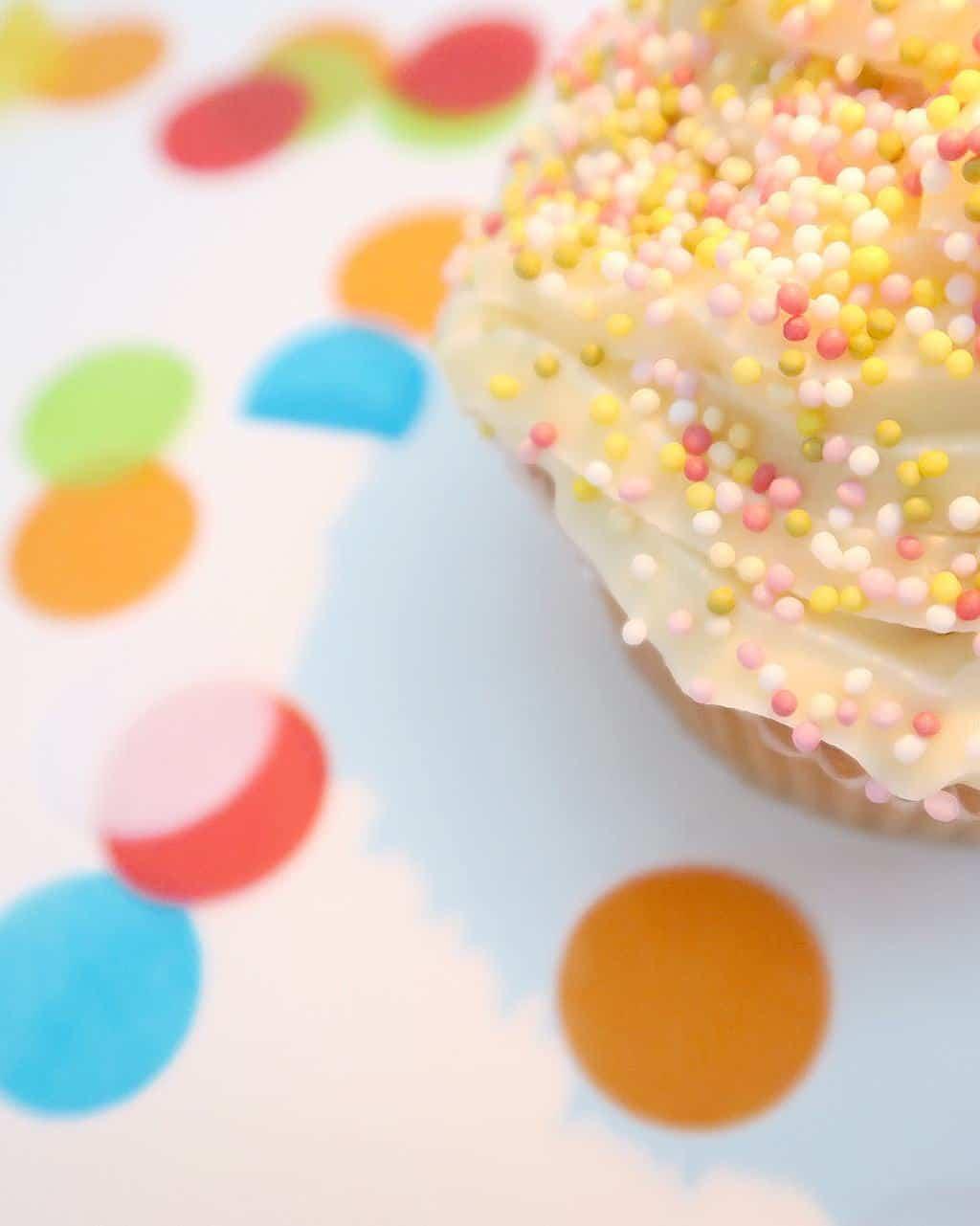 blog birthday cupcake