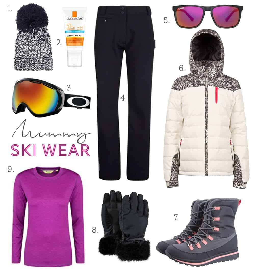 Family Ski-wear essentials