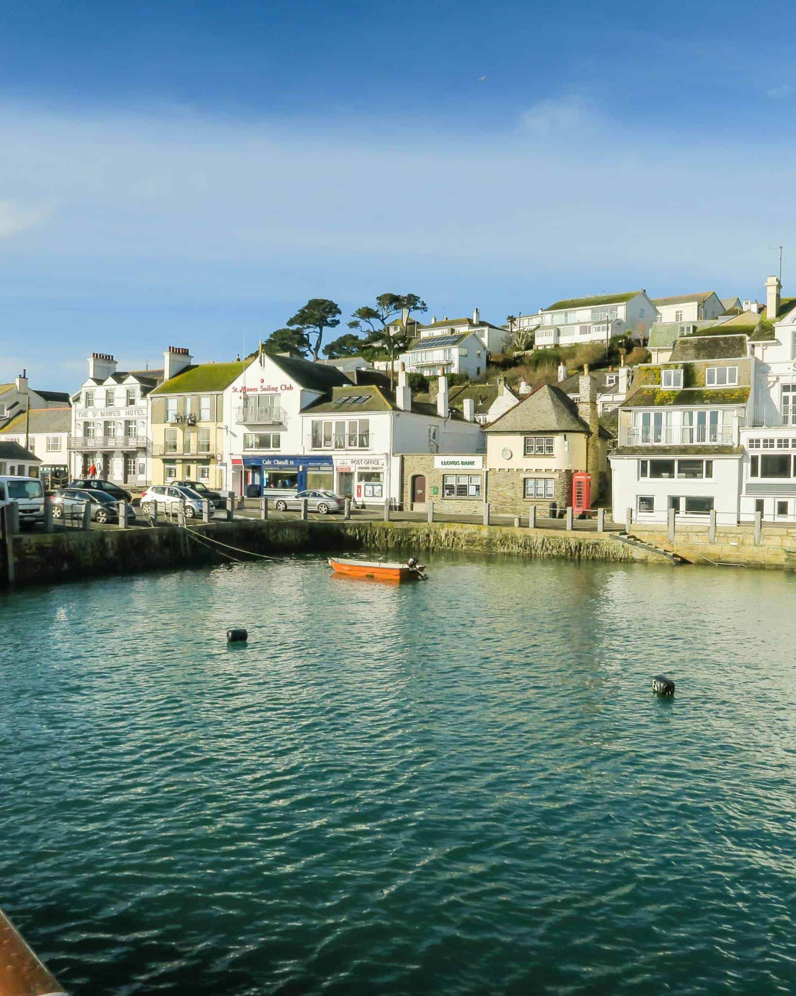 St Mawes harbour   Me and mine