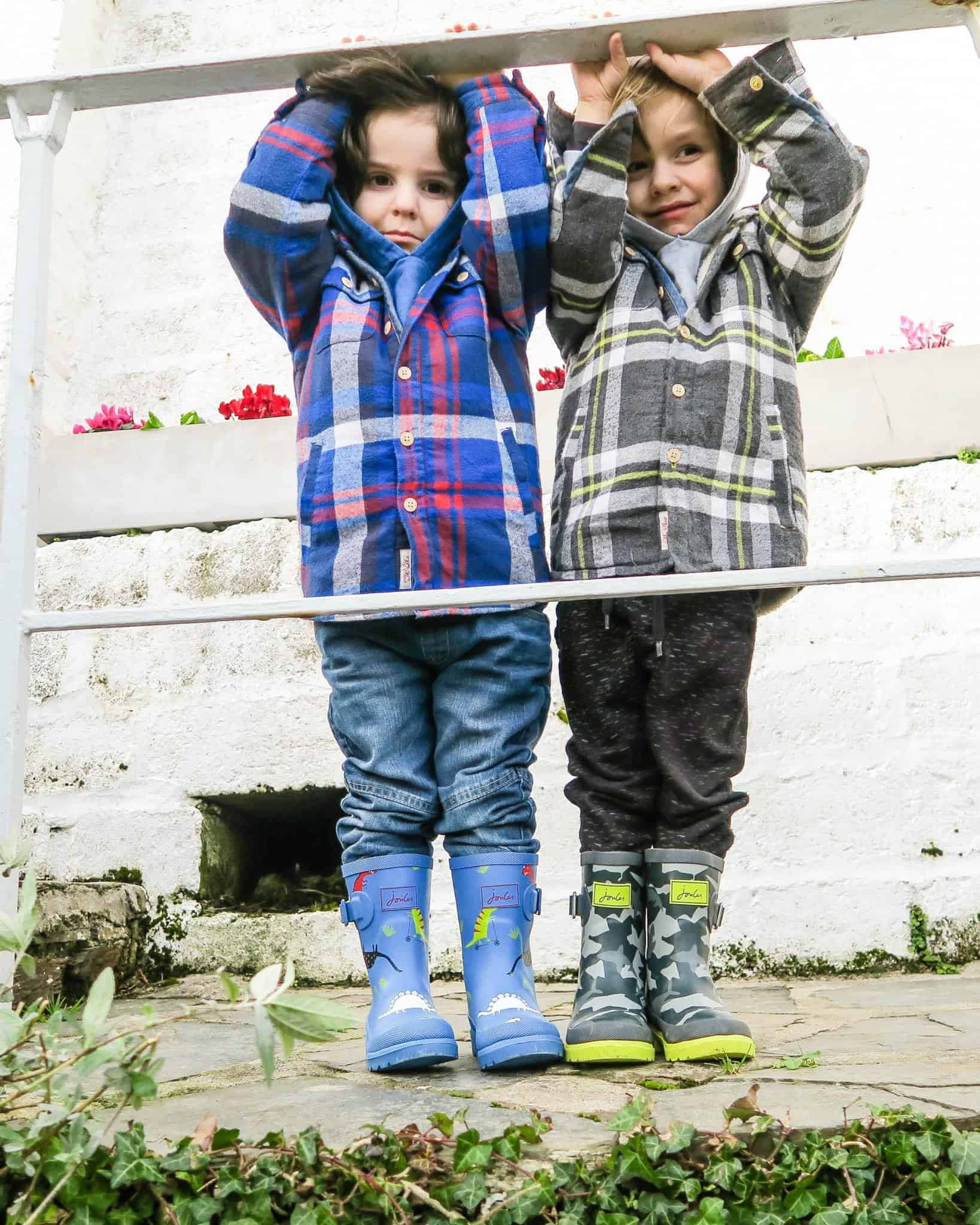 Joules check shirts | me and mine Feb 2017