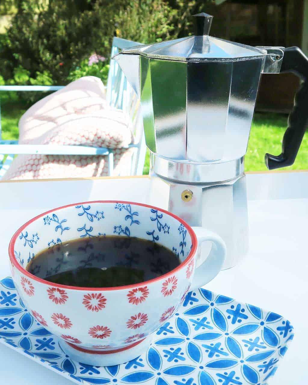 Moka coffee pot from HomeSense
