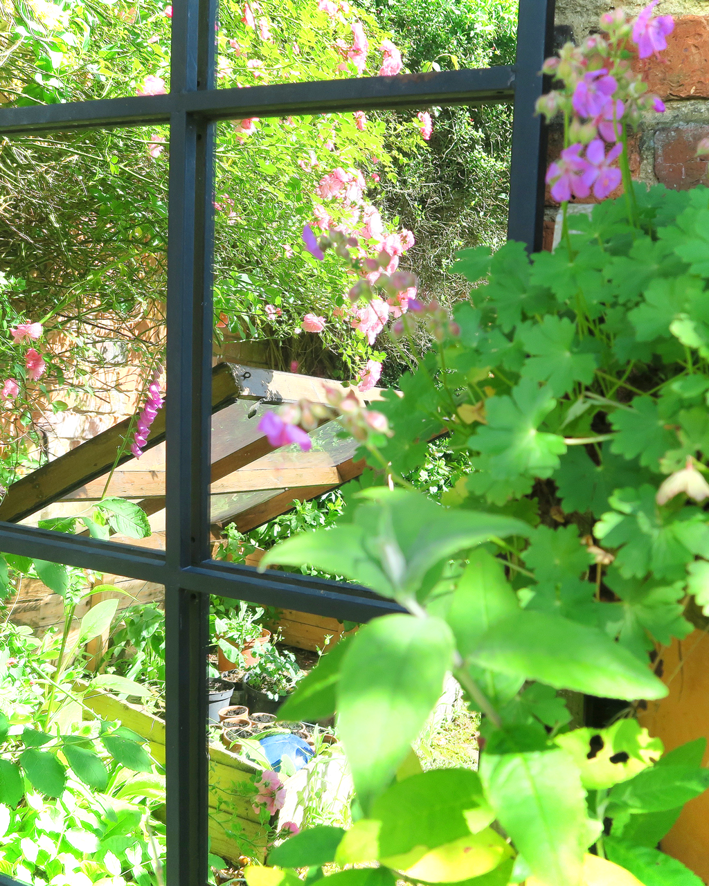A Strategically Placed Garden Mirror Will Illuminate Even The Gloomiest  Corner And Also Give Tantalising Glimpses ...
