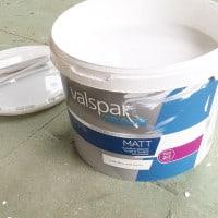 Operation She Shed | Valspar Matt Trade Emulsion
