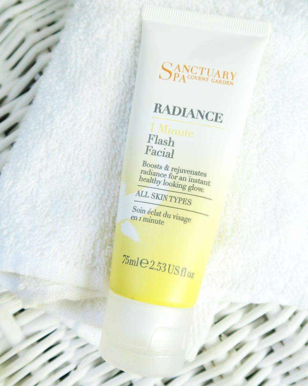 Sanctuary Spa Products Review — Sanctuary Spa 1 Minute Flash Facial