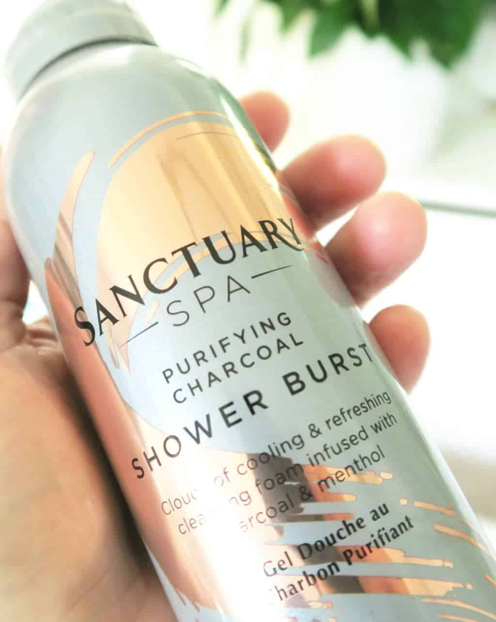Sanctuary Spa Products Review — Sanctuary Spa Purifying Charcoal Shower Burst