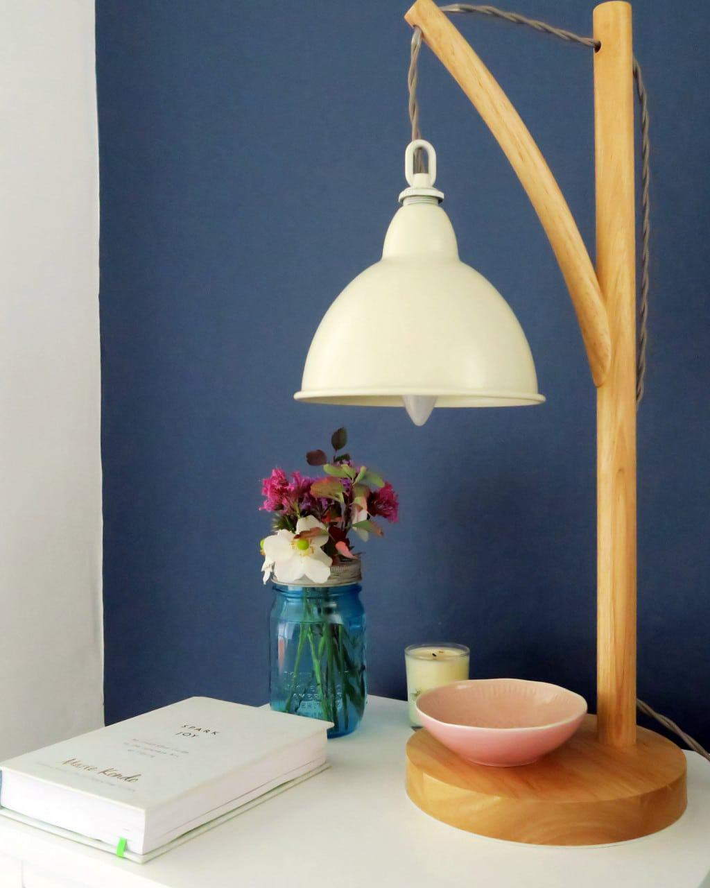 A colourful bedroom makeover | Blyton Lamp from Feather and Black