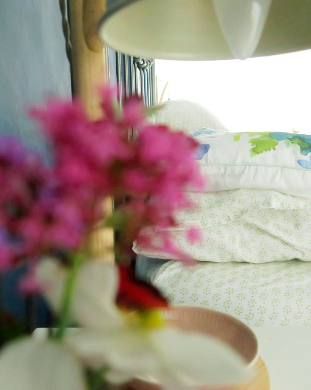 A colourful bedroom makeover