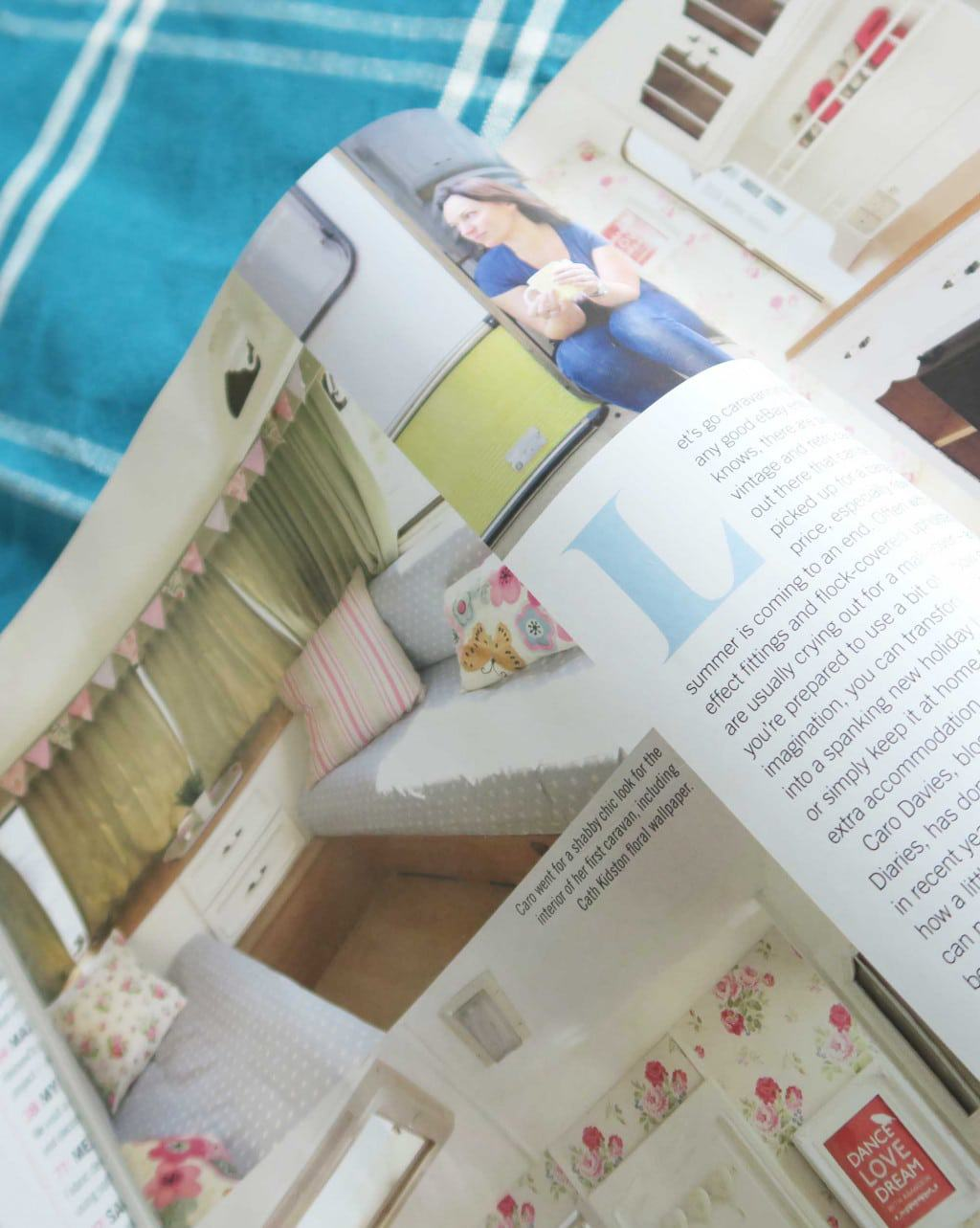 Our caravan makeover in Reloved magazine!