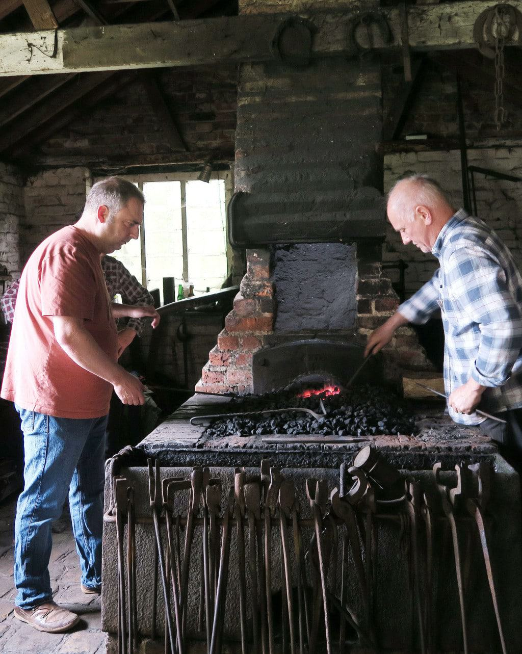 The forge at the Chiltern Open Air Museum