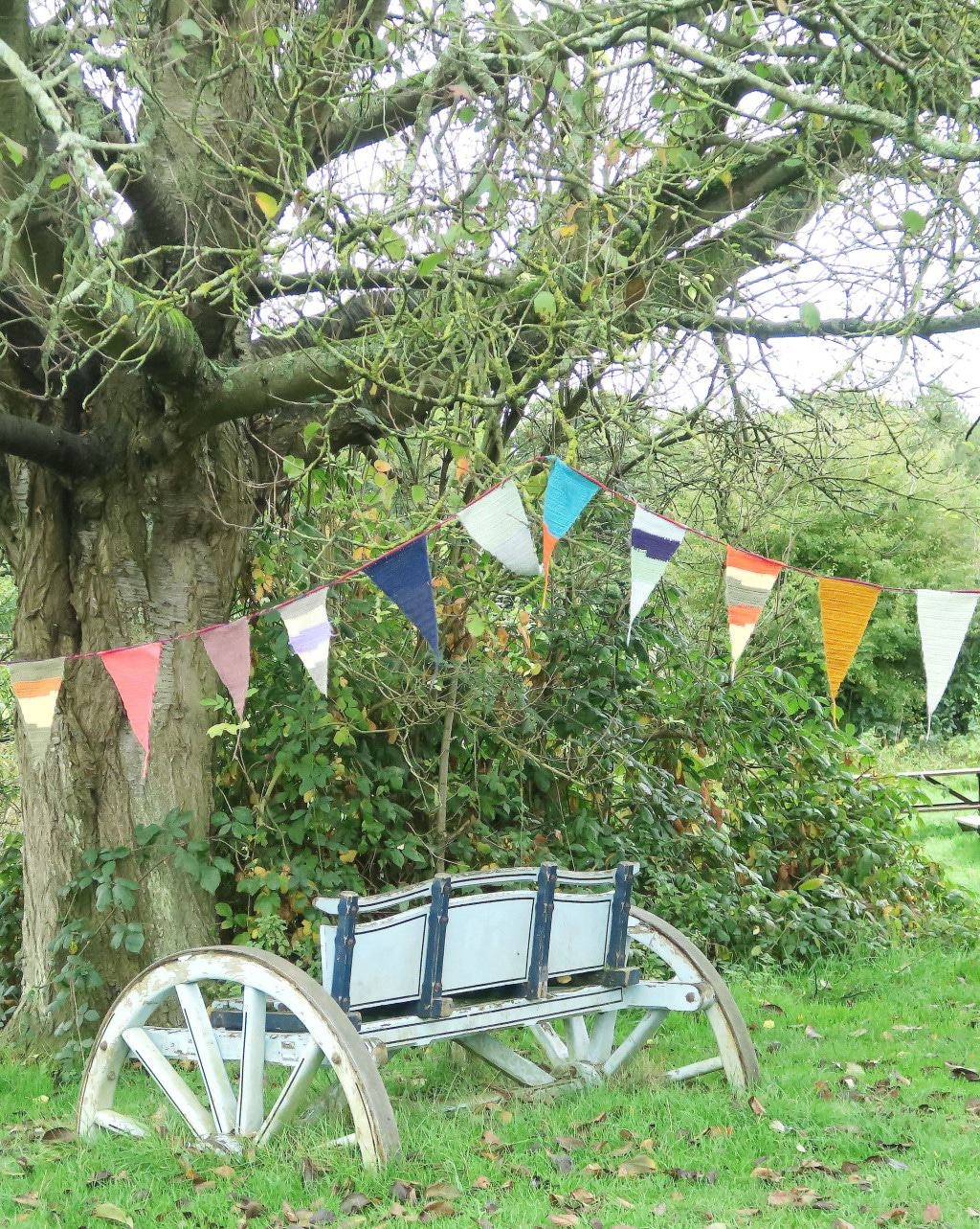 Bunting at the Chiltern Open Air Museum