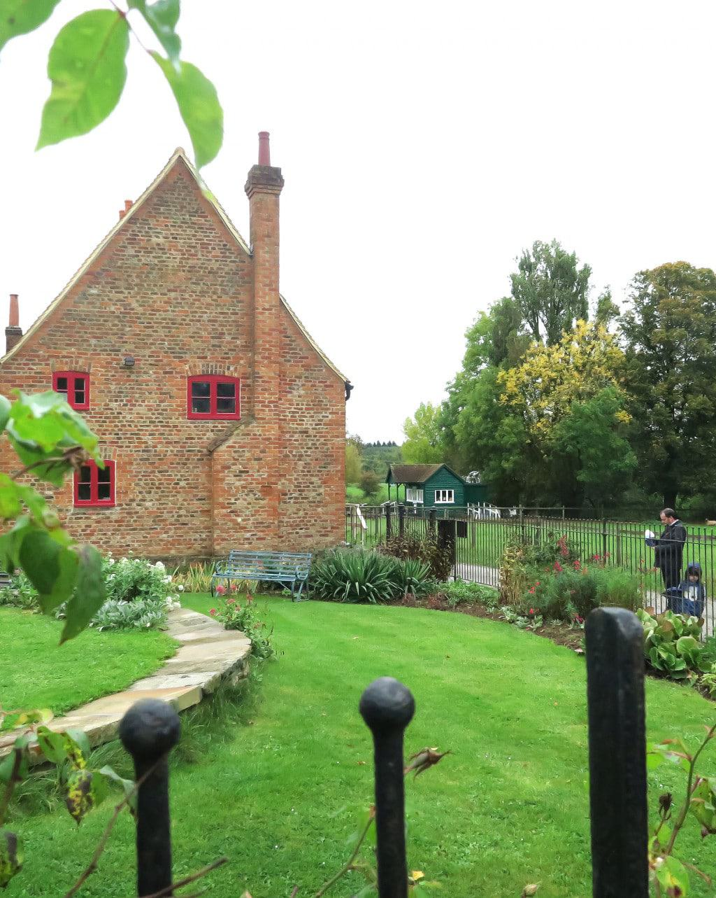 Beautiful gardens at the Chiltern Open Air Museum