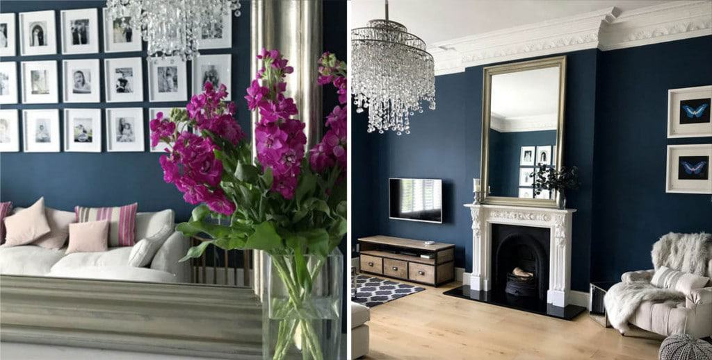 Home Etc — Decorating with dark walls