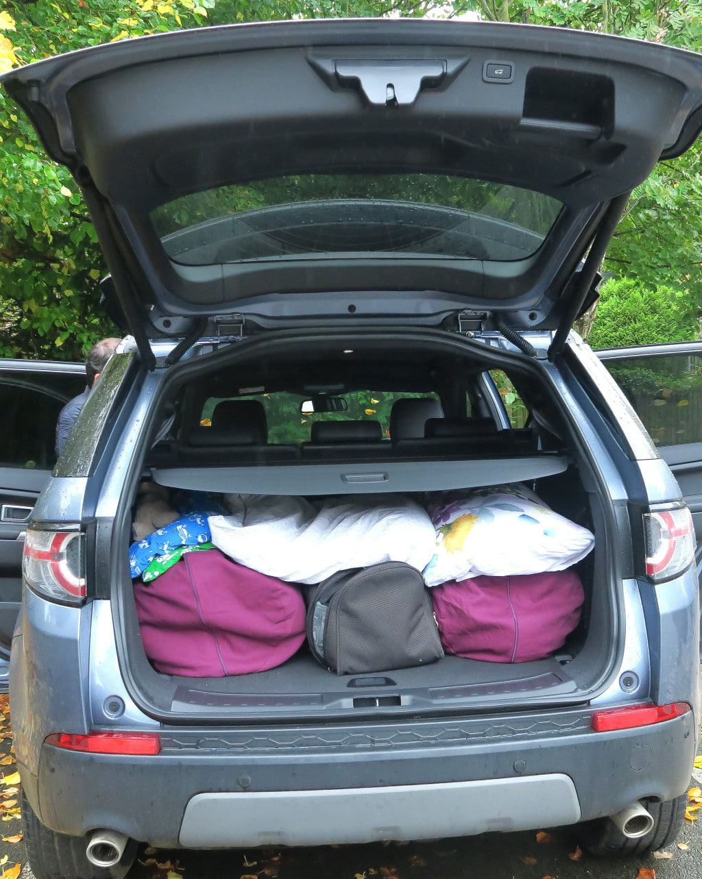 Our Land Rover Discovery Sport review featuring 'The Discovery Adventures' —  the  Discovery Sport HSE LUX has got a massive boot; perfect for a growing family.
