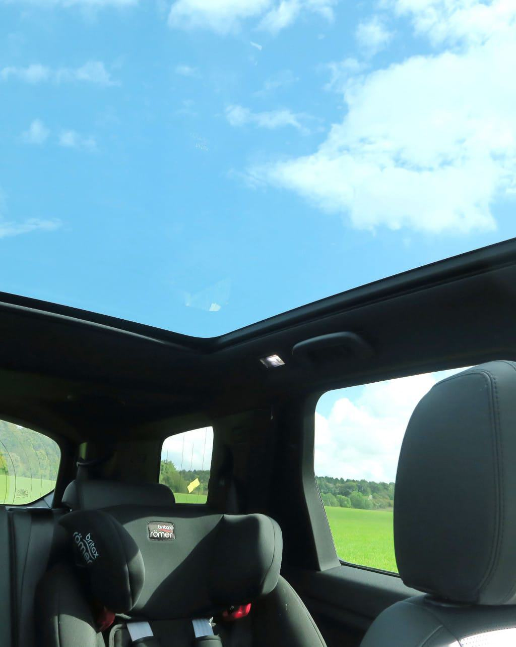 We love the panoramic sunroom of the  Discovery Sport HSE LUX