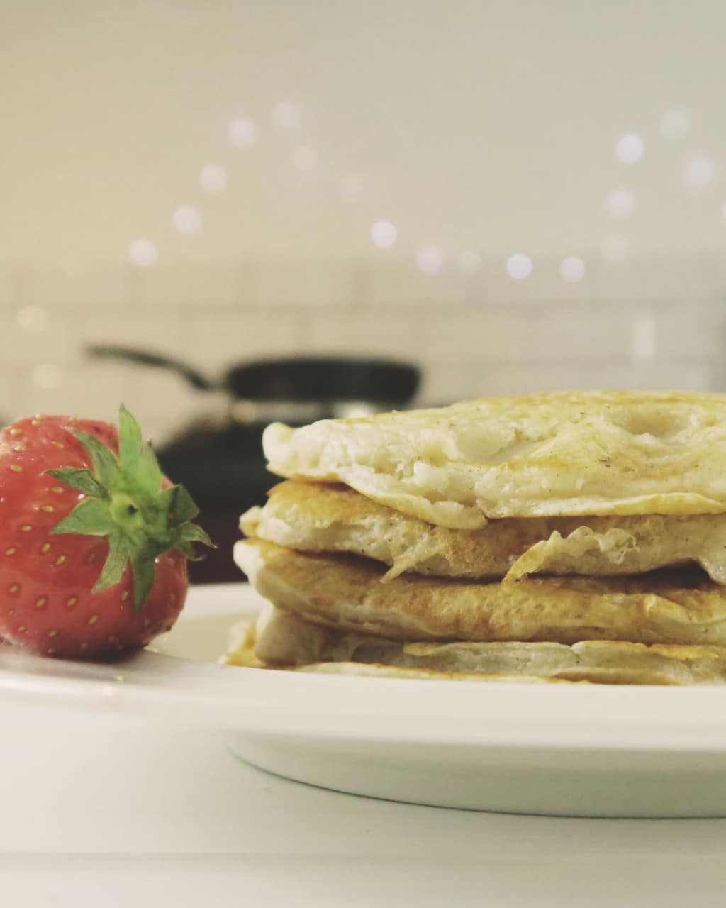 Eggless Pancake Recipe — best ever pancakes, light and fluffy!