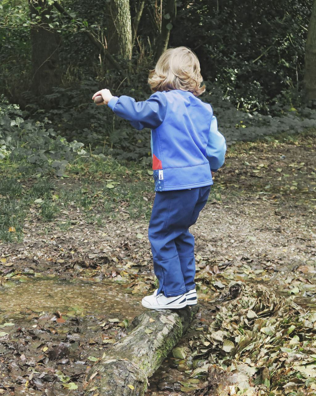 Kidunk clothing is great for active outdoor kids