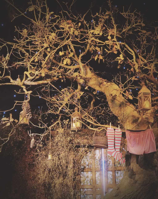 Magic trees at Lapland UK