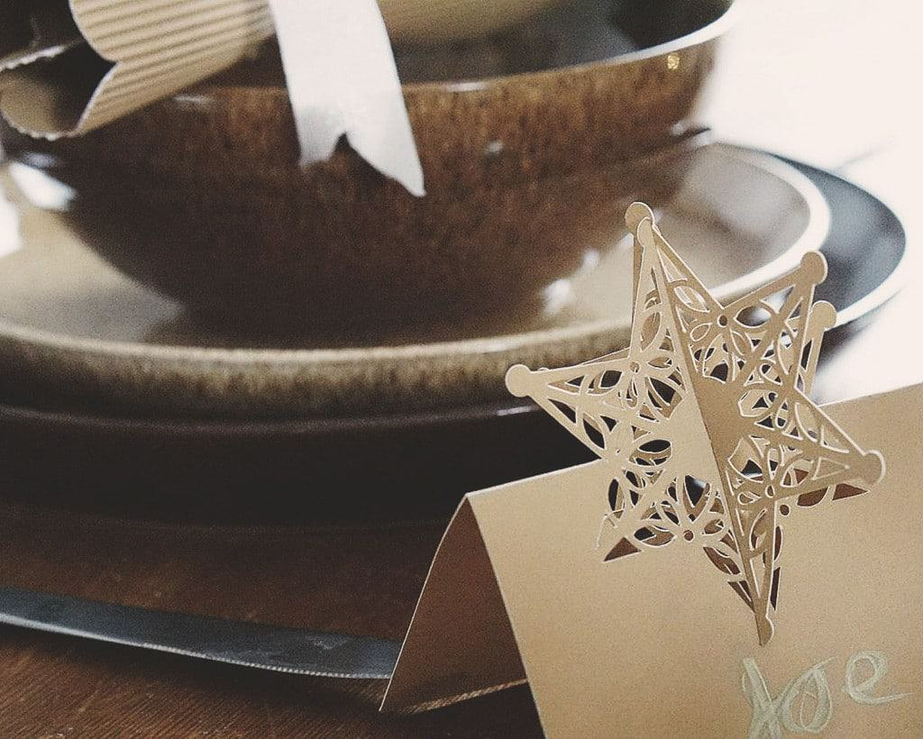 Home Etc | Rustic table and homemade crackers