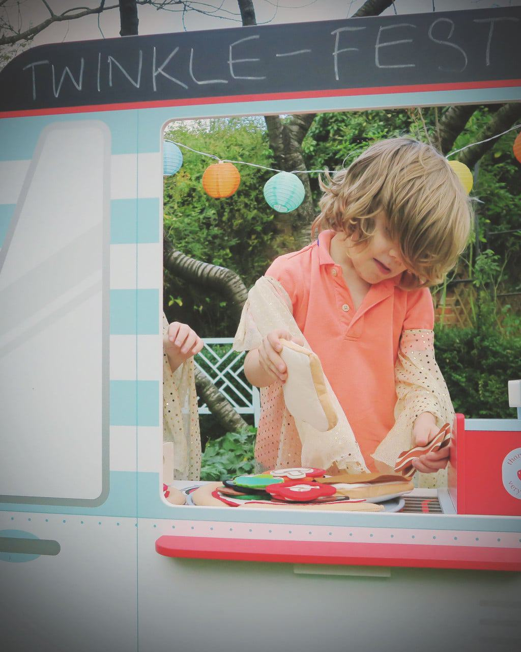 The GLTC festival food van / play kitchen — perfect for imaginative play