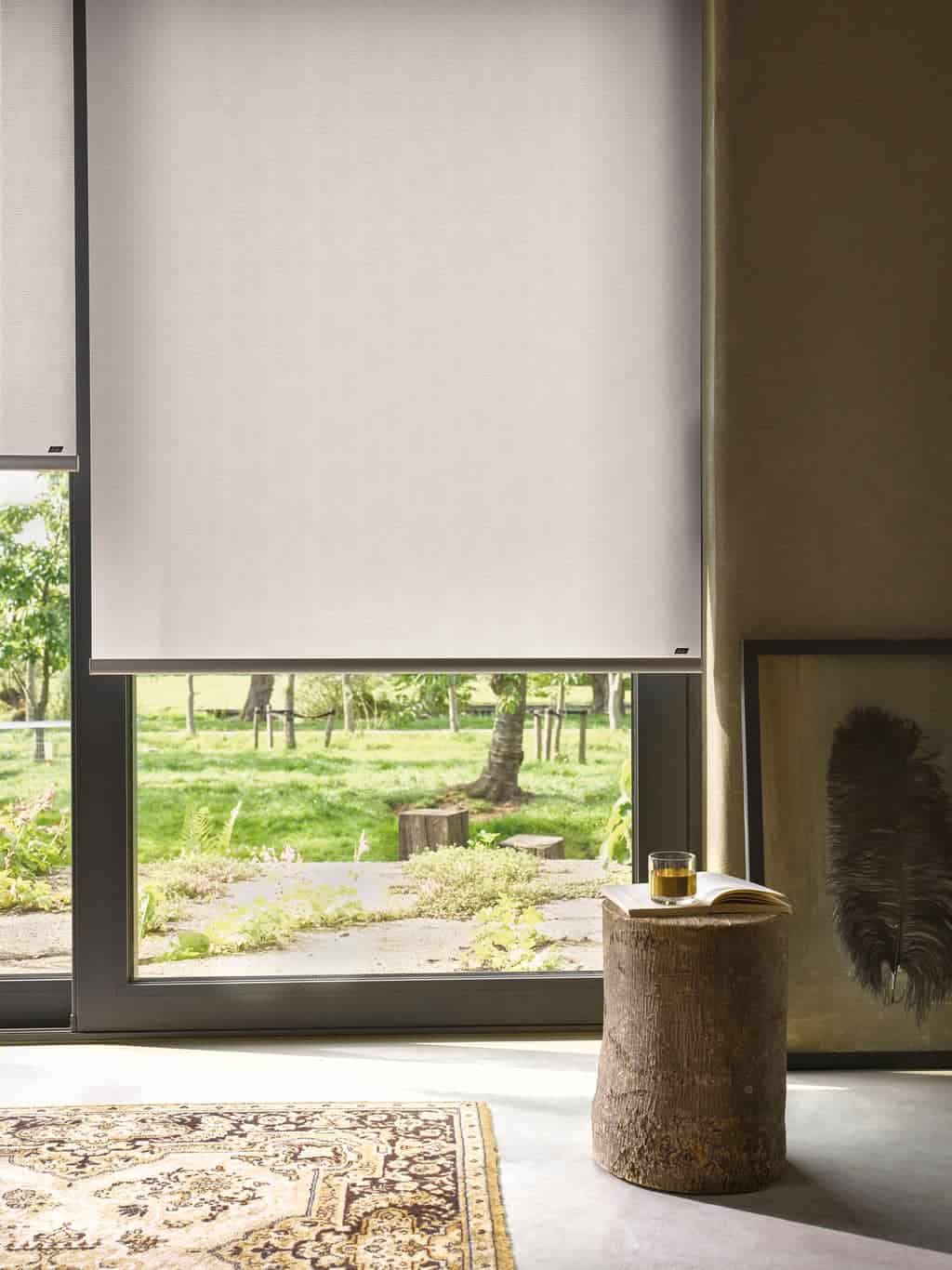 Botanical roller blinds from Luxaflex