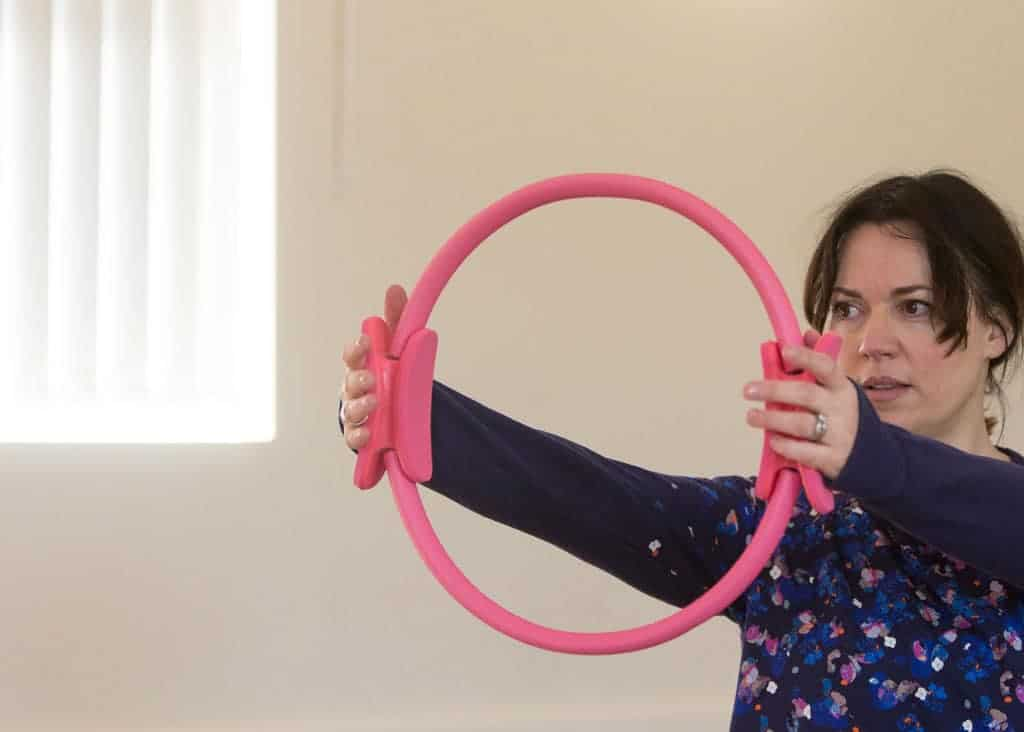 How Pilates Changed My Life   using the resistance ring