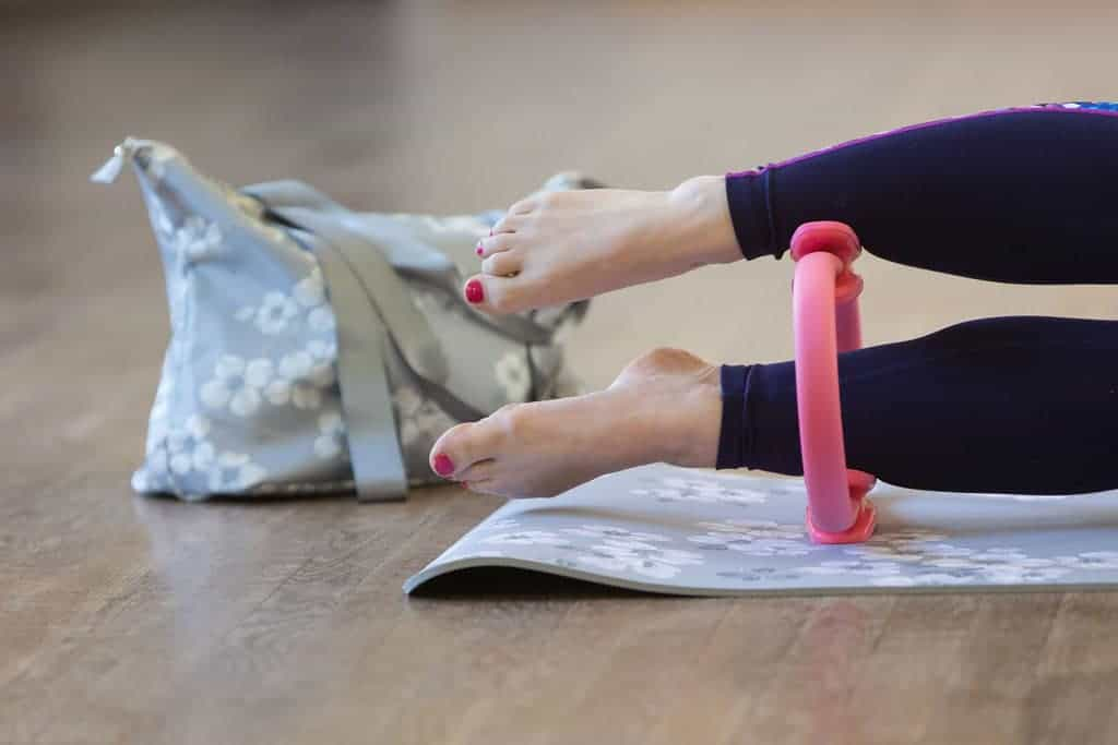 How Pilates Changed My Life   Using a resistance band for side work