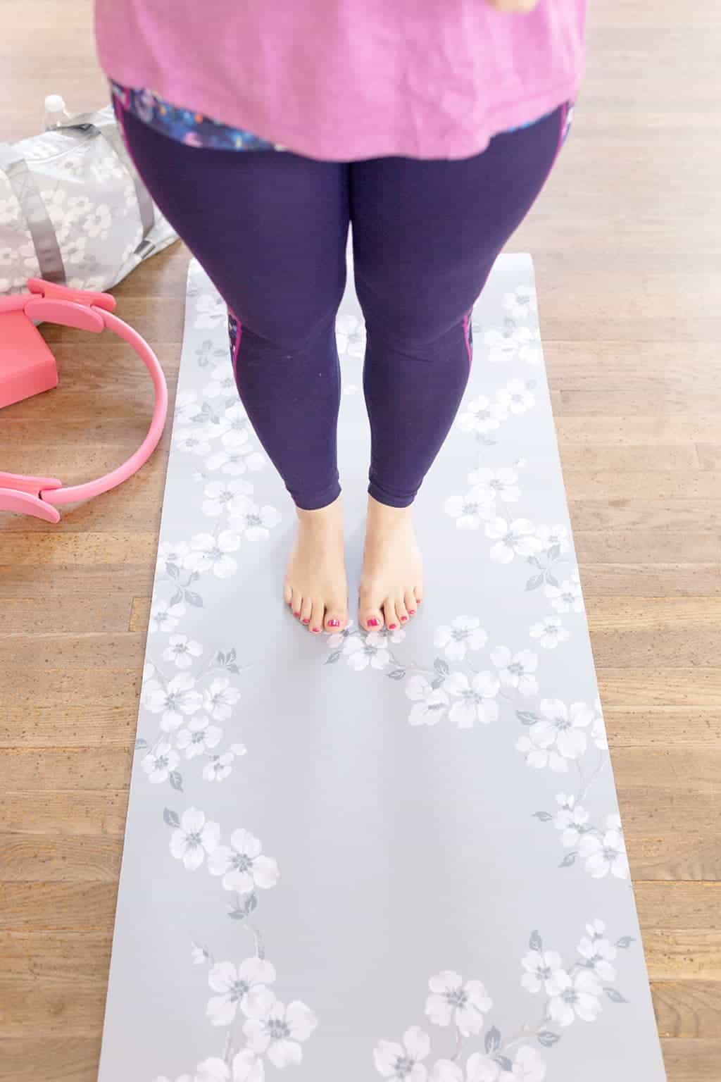 How Pilates Changed My Life   Pilates equipment, lifestyle shot, the prettiest yoga mat ever!